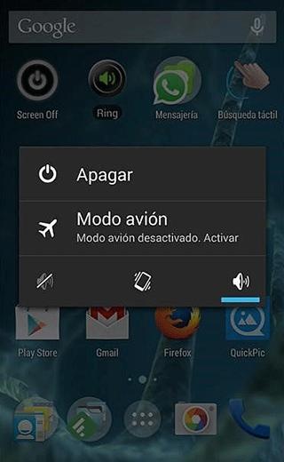 Android Apagar