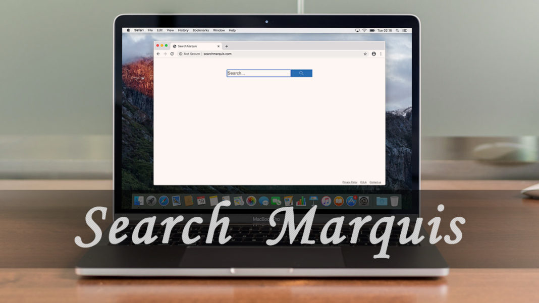 Elimina el virus Search Marquis