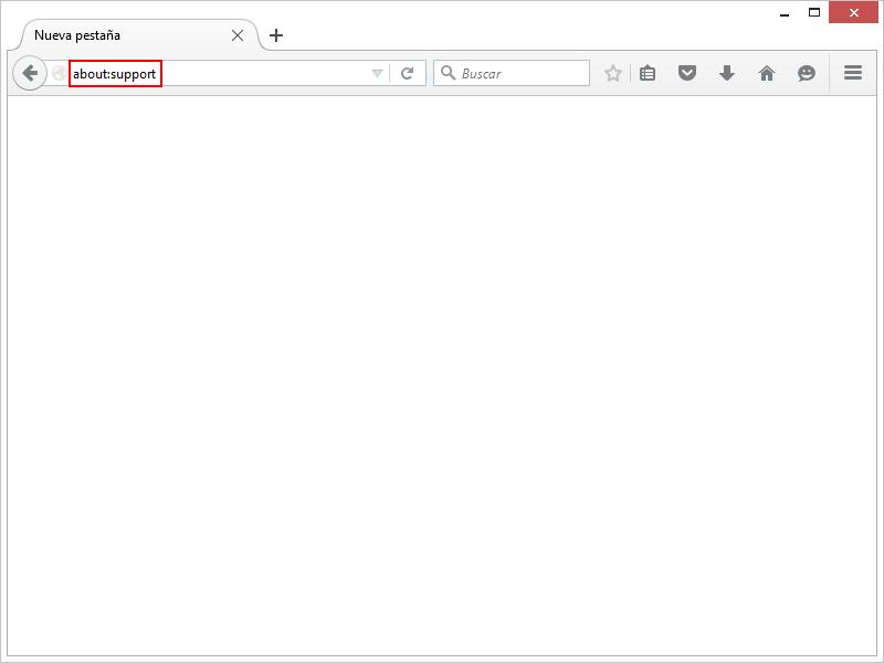 Reiniciar Firefox 1
