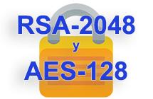 RSA-2048 y los sistemas de cifrado AES-128: desencriptar y recuperar archivos