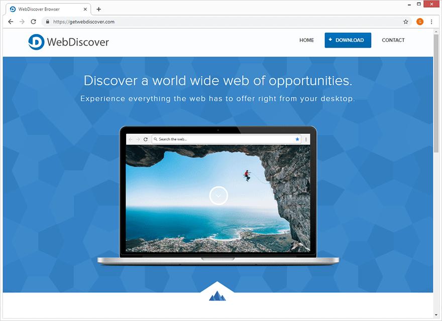 El editor de WebDiscover Browser describe la aplicación como lo mejor desde que se cortó el pan